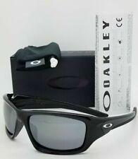 Oakley Valve Non-polarized Iridium Rectangular Sunglasses - Black
