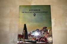Buch Katalog Interieur. Die Welt von Gunther Lambert