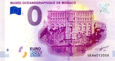 98 MONACO Musée océanographique, Façade, 2018, Billet 0 € Souvenir