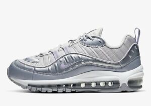 Nike Air Max 98 Trainers Sneakers New Size UK 8.5 (EUR 43) Replacement Box