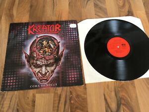 KREATOR COMA OF SOULS LP ORIGINAL VINYL 1990 VG++
