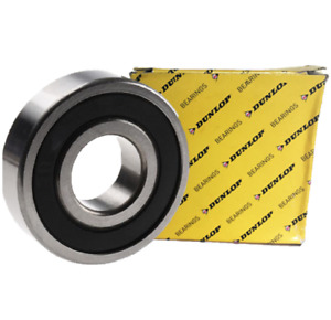 6205 2RS Dunlop Rubber Sealed Bearing 25mm X 52mm X 15mm