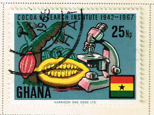 Ghana Cacao Fruit Production Research stamp 1967