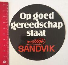 Aufkleber/Sticker: Sandvik - Op Goed Gereedschap Staat (160516198)