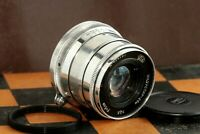 Silver Industar-26M 2.8/50mm (P) Rangefinder Russian Lens for M39 L39/ M42 leica