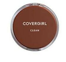 COVERGIRL Clean Pressed Powder Compact-Tawny-#165-Normal Skin