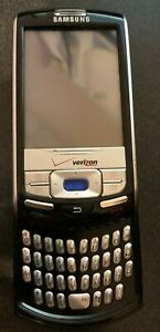 Samsung SCH i730 Black (Verizon) Cell Phone Fast Shipping Excellent Used Vintage