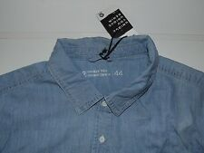 NEW Cubus unique blue denim shirt - XL mens, size 44 - S5158