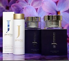 2 x JP INTENSIVE NIGHT CREAM + 1 Jericho FOAMING FACIAL SCRUB Amazing Skin Care!