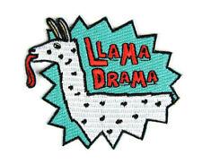 Mokuyobi Threads Iron-on Patch - Llama Drama, embroidered, patchgame, free post