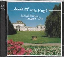 Musik auf Villa Hügel - Festival Strings Lucerne (Doppel-CD, 2000) neu, OVP!