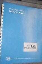 Tektronix Type S-2 Sampling Head Instruction Manual