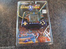 NBA HANG TIME MIDWAY TIGER HANDHELD tabletop lcd game 1997 new old stock scellé