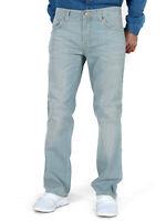 Herren Regular Slim Straight Fit Bio Denim Jeans Hose - Slim Jim Iron Grey