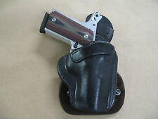 Smith & Wesson S&W Compact 1911 All Leather Molded Paddle Gun Holster Black Rh