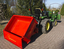 Traktormulde 120/80 cm, Kubota Iseki Holder Heckmulde Weinbau Obstbau - Allesch