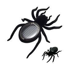 Solar Spider Tarantula Educational Robot Scary Insect TrickToy Kids Solar Toy