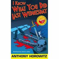 A Diamond brothers story: I know what you did last Wednesday by Anthony