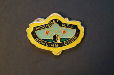 Collectable - Morisset RSL Bowling Club - Members Badge.