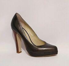 Carvela Usd 1 Dark Green Genuine Leather High Heels Shoes Womens Uk Size 5 EU 38