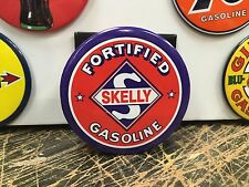 classic SKELLY fortified GASOLINE LOGO  full backed refrigerator MAGNET