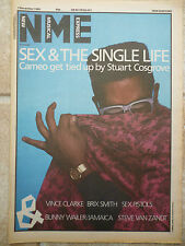 """CAMEO, 7TH DECEMBER 1985 COLOUR N.M.E COVER, PICTURE, POSTER, 11.5"""" X 16.5"""""""