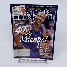Sports Illustrated Magazine Feb 17, 2003 Michael Jordan 40th Birthday
