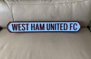 West Ham United FC Road Sign