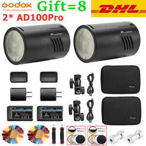 GODOX AD100Pro AD100 Pro Pocket Flash Light Wireless HSS TTL 1/8000s Speedlite
