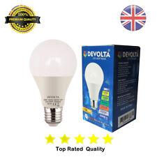 DEVOLTA 10W LED (60W/100W) ES E27 GLS Lamp Light Bulbs Cool Day White A+