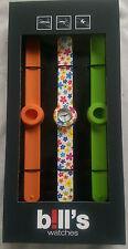 BILL'S WATCH Mini pkmcl 03 Lock Slap Bracelet Entièrement neuf dans sa boîte garantie b! ll 's montres