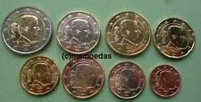 Belgien 8 Euromünzen 2017 mit 1 Cent bis 2 Euro KMS Kursmünzsatz coins
