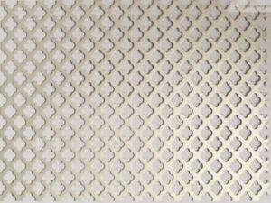 2 mq lamiera forata in alluminio bianco per copertura termosifoni stufe e camine
