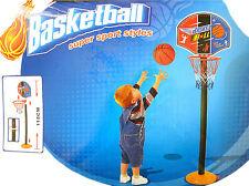 Basketballkorb mit Ball Schnellaufbau für Kinder Drinnen und Draussen NEU !