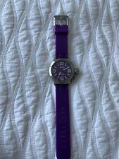 TW Steel Purple Watch