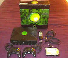 ORIGINAL XBOX MODDED w/ 500GB HDD VISION 5 1,000+ GAMES 333 Xbox - Extras Box ++