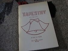 Tapestry: A Book of Verse by The Flint Poetry Forum(1977,PB,58p)
