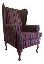 Unbranded Striped Armchairs