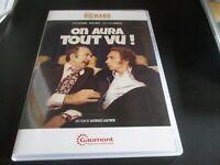 """DVD NEUF """"ON AURA TOUT VU"""" Pierre RICHARD, Miou-Miou, Jean-Pierre MARIELLE"""