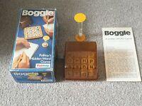 Vintage Boggle Word Game - Complete - Palitoy Parker 1973 1976 Retro