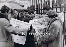 "BOMBE ""A"" Sahara Nucleaire Atomique FRANCE-SOIR Journal Paris 1960"