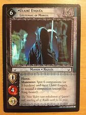 Lord the Rings CCG Fellowship 1U231 Ulaire Enquea Lieutenant of Morgul LOTR TCG