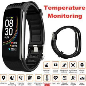 C6T Smart Watch Sports Bracelet Exercise Blood Pressure Monitoring Waterproof