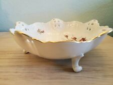 China Bowl Vintage Reticulated Classic Rose Pattern Footed by Rosenthal Germany