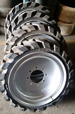 (4-tires with wheels) Solid 31x10-20 / 10-16.5 Skid-steer loader tire 311020