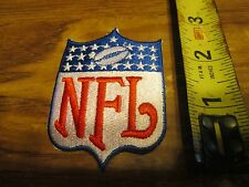 NFL SHIELD  PATCH 3 INCHES TALL SWEET LOOKING  IRON ON