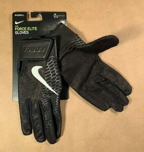 Nike Force Elite Baseball Gloves, New! Medium