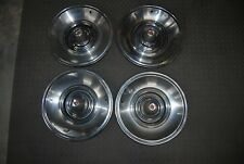 1963 Chrysler Imperial Set/4 Wheel Covers / Hub Caps NICE Originals 15""