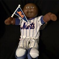 1985 Cabbage Patch Kid All Star NY Mets Baseball Player African American