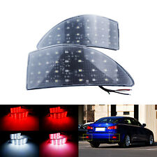 Clear Lens LED Rear Bumper Reflector Light For Lexus IS 250 220 200 2005-14 MKII